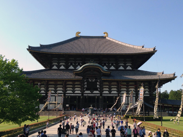 The Hall of the Great Buddha, Todaiji Temple