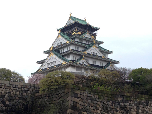 The castle tower, Osaka Castle